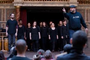 Shakespeare's Globe International Actors' Fellowship 2015 performance
